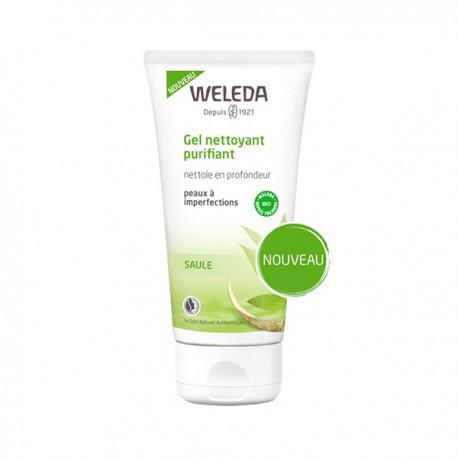 WELEDA - Gel nettoyant purifiant - Nettoie en profondeur - Peaux à imperfections - 100ml