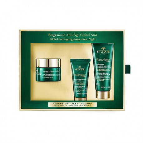 NUXE - Coffret Nuxuriance Ultra - Programme Anti-Âge Global Nuit
