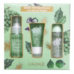 CAUDALIE - Coffret Vinopure - Mission anti-imperfections - Sérum 30ml + Gelée 30ml + Lotion 50ml
