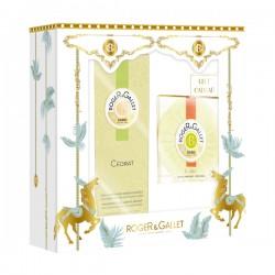 ROGER & GALLET - Coffret Cédrat - Eau parfumée 100ml + Savon 100g Offert
