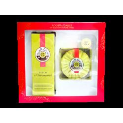 ROGER & GALLET - Coffret Fleur d'Osmanthus - Eau parfumée 100ml + Savon 100g Offert