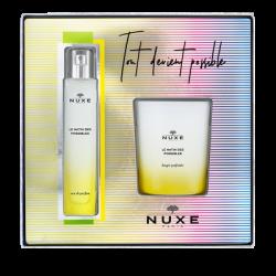 NUXE - Coffret - Le matin des possibles - Eau de parfum 50ml + Bougie 140g Offerte