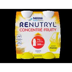 NESTLÉ - Renutryl - Concentré fruity - Saveur ananas - 4x200ml