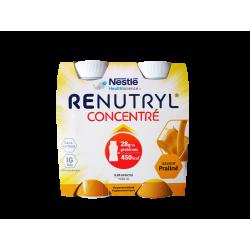 NESTLÉ - Renutryl - Concentré - Saveur praliné - 4x200ml