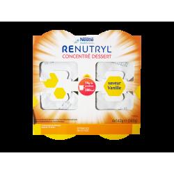 NESTLÉ - Renutryl - Concentré dessert saveur vanille - 4x140g
