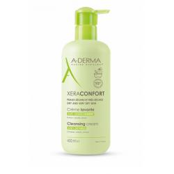 A-DERMA - XeraConfort - Crème lavante anti-dessèchement - Peaux sèches à très sèches - 200ml