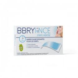 BBRYANCE - Strips menthe - Bandes blanchissantes pour les dents - 7 poches