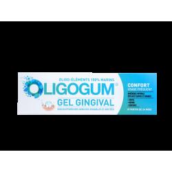 OLIGOGUM - Confort - Gel gingival - Soin quotidien des gencives sensibles et irritées - 60ml