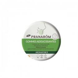 Pranarôm Aromaforce Gommes adoucissantes menthe/eucalyptus bio 45g
