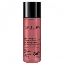 RESULTIME - Lotion Peeling Nuit aux collagènes repulpants + 4 AHAS - 100ml