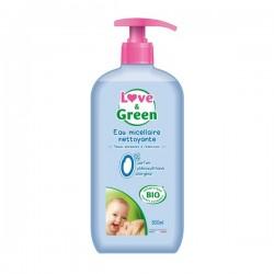 Love & Green Eau micellaire nettoyante bébé 500ml
