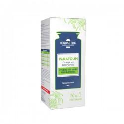 Herbaethic Paratoum Gorge et bronches hygiène des voies respiratoires 150ml