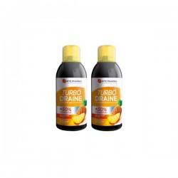Forté pharma Turbodraine minceur goût ananas 2 x 500ml