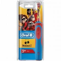 ORAL-B - Kids - Brosse à dents électrique - Les Indestructibles - 3 ans et plus