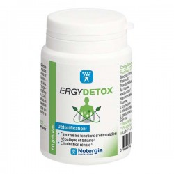 NUTERGIA - Ergydetox - Détoxification - 60 gélules