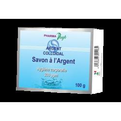 PHARMA PHYT - Savon à l'Argent Colloïdal - Hygiène corporelle 220 ppm - 100g