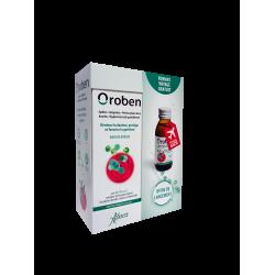 ABOCA - Oroben - Bain de bouche - Diminue la douleur, protège et favorise la guérison - 150ml + 75ml offerts