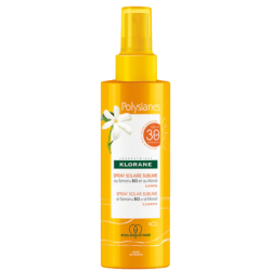 KLORANE - Polysianes - Spray solaire sublime SPF30 - Corps - 200ml