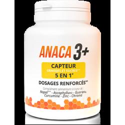 ANACA 3+ - Capteur graisses et sucres 5 en 1 - 120 gélules