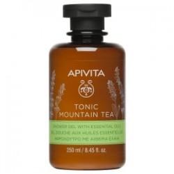 APIVITA - Tonic Mountain Tea - Gel Douche aux Huiles Essentielles - 250ml