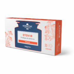 HERBAETHIC - Stovir - Protège et renforce - Immunité - 30 comprimés