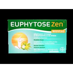 BAYER - Euphytose zen - Résistance physique et émotionnelle - 30 comprimés