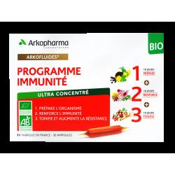 ARKOPHARMA - Arkofluides - Programme immunité - Bio - 30 ampoules