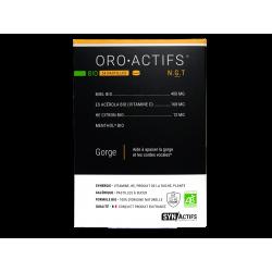 SYNACTIFS - Oro-actifs - Bio - Pastilles gorge - 24 pastilles