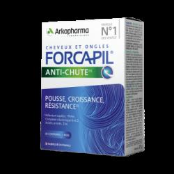 ARKOPHARMA - Forcapil - Anti-chute - Pousse, croissance, résistance - 30 compirmés