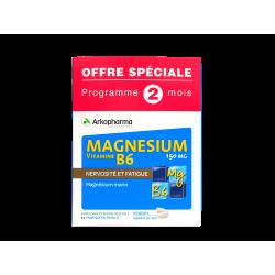 ARKOPHARMA - Magnésium et vitamine B6 - Complexe relaxant - 120 gélules