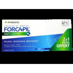 ARKOPHARMA - Forcapil - Anti-chute - Pousse, croissance, résistance - 90 comprimés