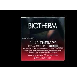 BIOTHERM - Blue therrapy - Crème de nuit - Raffermissante - Tous types de peau - 50ml
