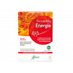 ABOCA - Naturamix - Énergie - 100 naturel - Complément alimentaire - Adultes - 20 sachets