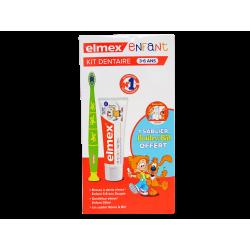 ELMEX - Kit dentaire - 3-6 ans - Enfant - + sablier offert - 3 produits
