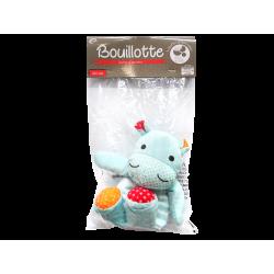 COOPER - Bouillotte - Sans eau - Perles de silice - Hippopotame - x1