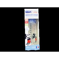 DODIE - Biberon anti-colique - tétine ronde 3 vitesses - Bleu Mickey - x1