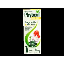 PHYTOXIL - Gorge et toux - Gorge irritée - Toux sèche - Spray 20ml
