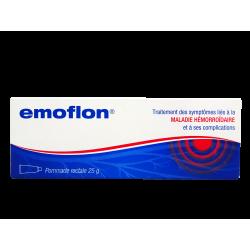 EMOFLON - Pommade - Maladie hémorroïdaire - 25g