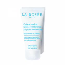 LA ROSÉE - Crème mains - Ultra-réparatrice - Mains sèches - 50ml