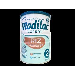 MODILAC - Expert 2 - Riz - Lait poudre - Allergies - 6-12 mois - 800g
