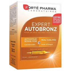 FORTÉ PHARMA - Expert autobronz - Gout abricot - 30 ampoules