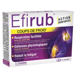 EFIRUB - Coup de froid - Action renforcée - 30 comprimés