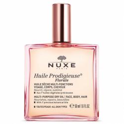 NUXE - Huile prodigieuse - Florale - Huile sèche multi-fonctions - Toutes peaux - 50ml