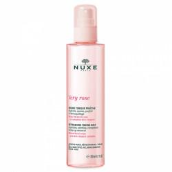 NUXE - Very rose - Brume tonique fraîche - Eau florale de rose - Toutes peaux - 200ml