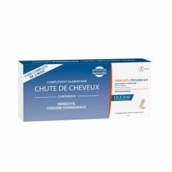 DUCRAY - Complément alimentaire - Chute de cheveux - Anacaps progressiv - 3x30 capsules