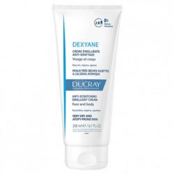 DUCRAY - Dexyane - Crème emolliente anti-grattage - Peaux sèches - 200ml