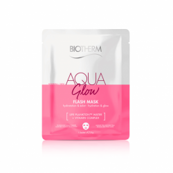 BIOTHERM - Aqua glow - Flash mask - Hydratation & éclat - 1 sachet