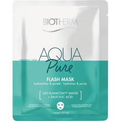 BIOTHERM - Aqua pure - Flash mask - Hydratation & pureté - 1 sachet