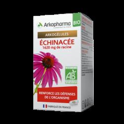 ARKOPHARMA - Arkogélules - Échinacée - 1620mg de racine - Bio - Renforce les défenses - 45 gélules