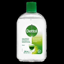 DETTOL - Gel désinfectant - Mains - 500ml